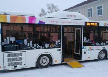 Новые автобусы украсят Кокшетау