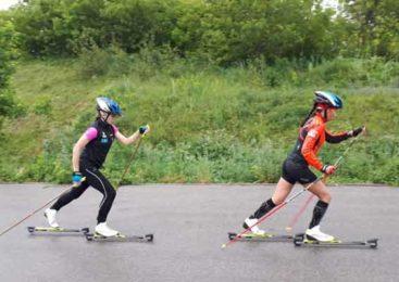 Акмолинские лыжники приступили к летним тренировкам