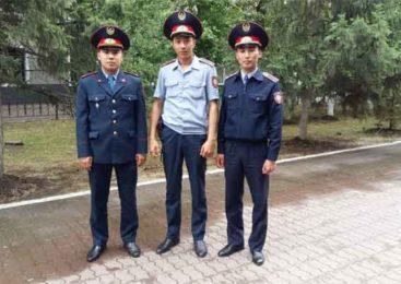 Благодарность полицейским