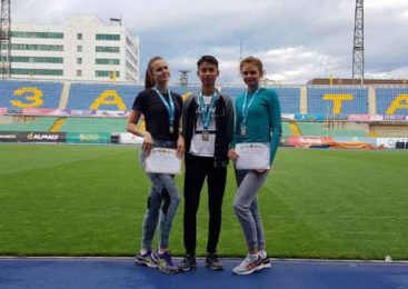 Пять наград у легкоатлетов