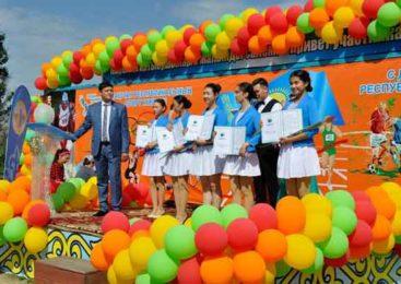 В Кокшетау прошло празднование Дня спорта Казахстана