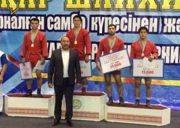 Акмолинский самбист завоевал бронзу
