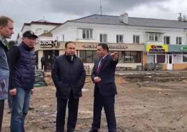 Аким Акмолинской области ознакомился с ходом ремонта дорог