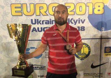 «Бронза» чемпионата Европы по мини-футболу