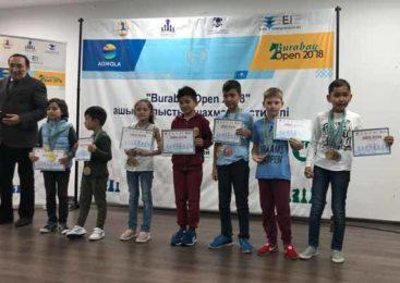 Серебряный призер шахматного фестиваля «Burabay Open 2018»