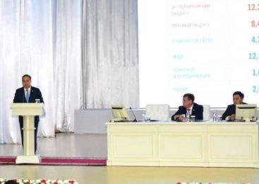 Отчет акима Акмолинской области