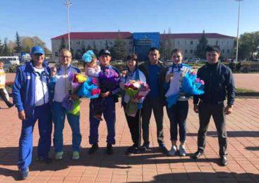 Кокшетау встретил чемпионку мира