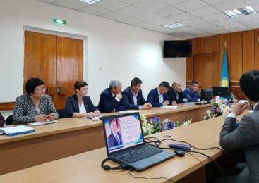 На активе Ерейментауского района обсудили послание президента