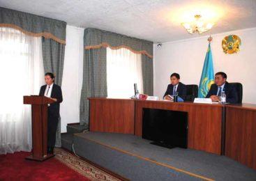 В аршалынском районе прошел актив по обсуждению послания главы государства