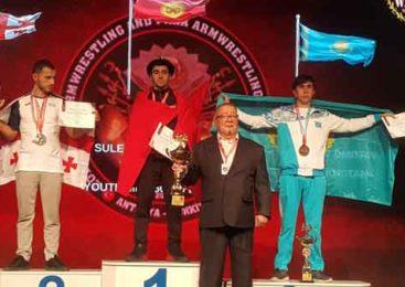 Дмитрий завоевал «бронзу»