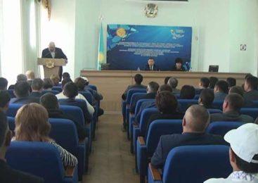 В Жаркаинском районе обсудили Послание Президента