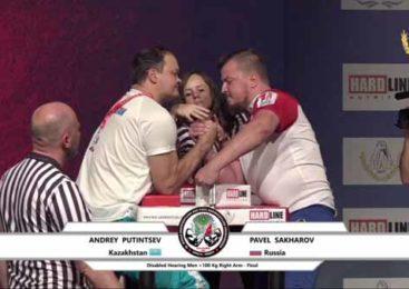 Андрей стал двукратным чемпионом мира