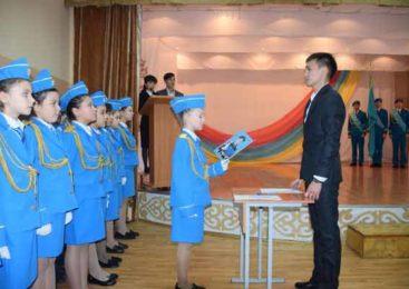 Юные кадеты приняли присягу