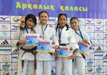 Дзюдоистки из Степногорска выиграли республиканский турнир