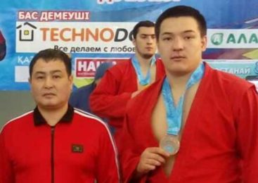 Акмолинские самбисты стали призерами чемпионата Казахстана