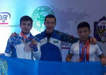 Акмолинец стал чемпионом Азии по пауэрлифтингу в Монголии