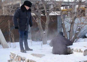 Полицейские Кокшетау спасают бездомных от холода