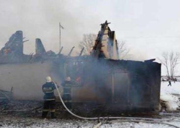 Мужчина сгорел в пожаре в Акмолинской области