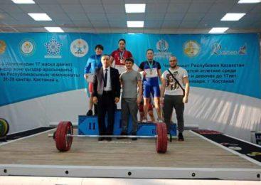 Акмолцы стали призерами Чемпионата РК по тяжелой атлетике