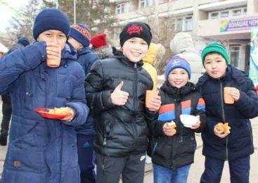 Спортсмены ОШИОСД отпраздновали Наурыз мейрамы