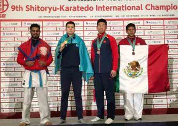 Акмолинец стал чемпионом мира по карате в Японии