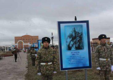 Аллею Славы открыли в Целиноградском районе
