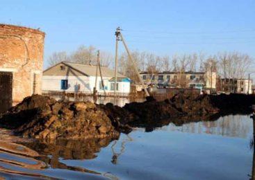 Жилье многодетной семьи из Акмолинской области спасли от подтопления