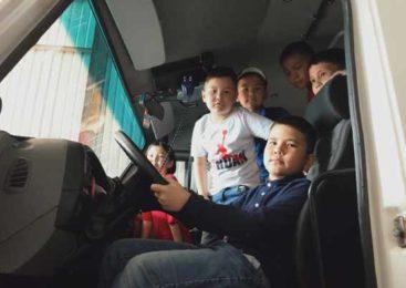 Акмолинские спасатели осуществили мечту десятерых детей