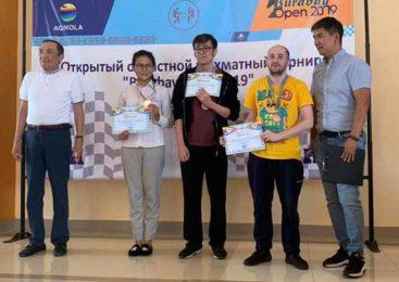Победители шахматного турнира