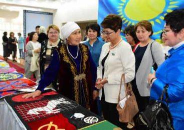 Форум сельских женщин прошел в Акмолинской области